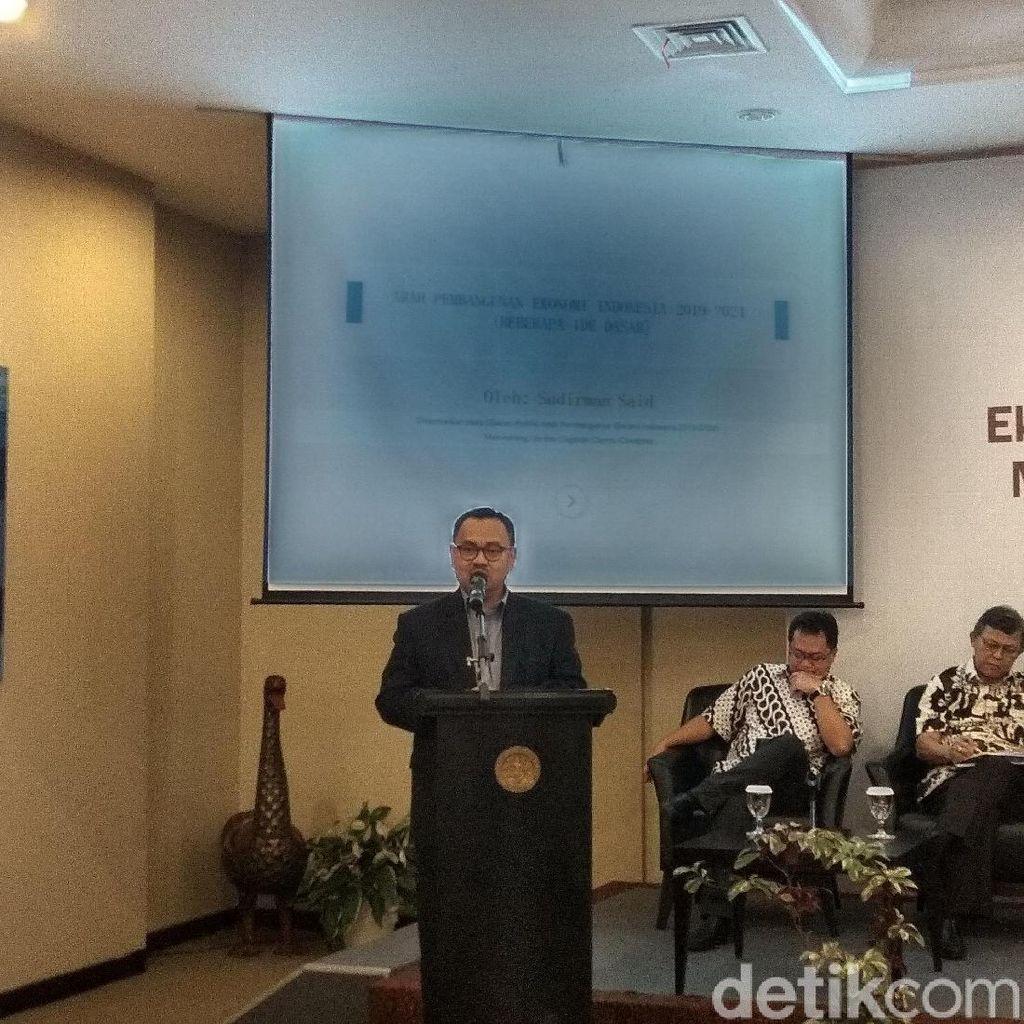 Sudirman Said Kenang Saat di Kabinet Jokowi: Masa Indah Sudah Lewat