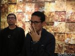 Sandiaga Hadiri Pameran Seni-Desain Bareng Ketua Kadin di Kemang