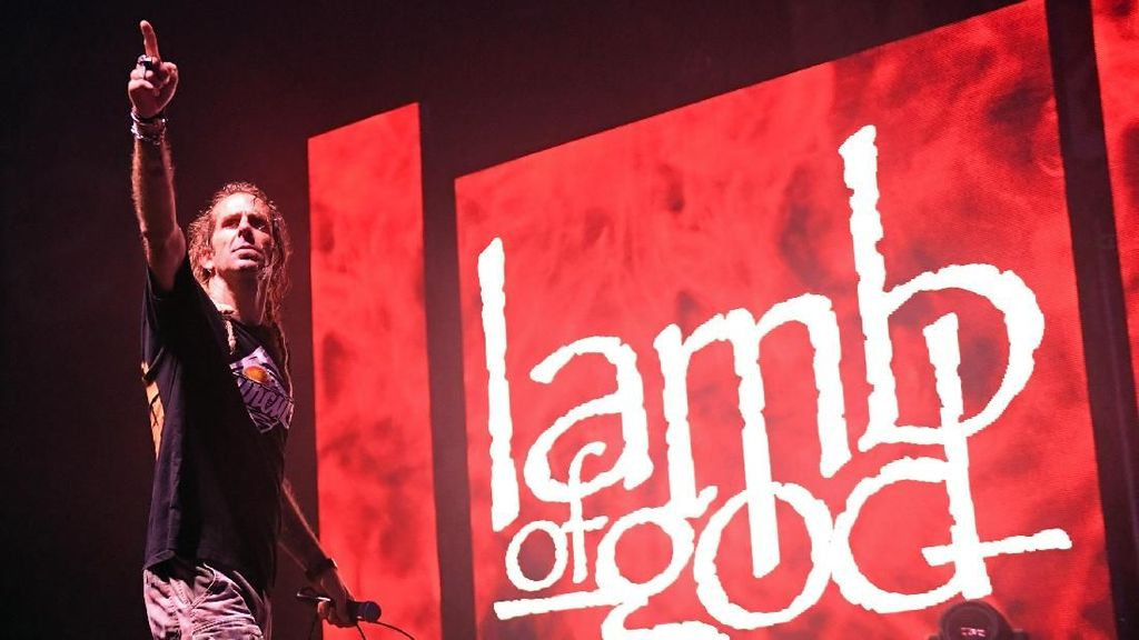 Lamb of God Lelang Medali Grammy Awards Buat Amal
