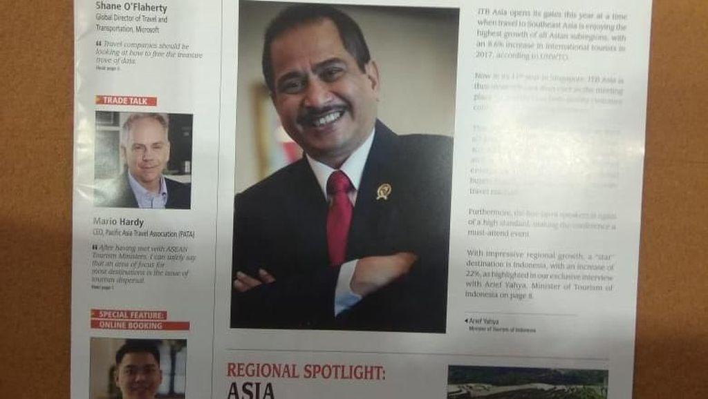 Menpar Jadi Primadona di ITB Asia News 2018