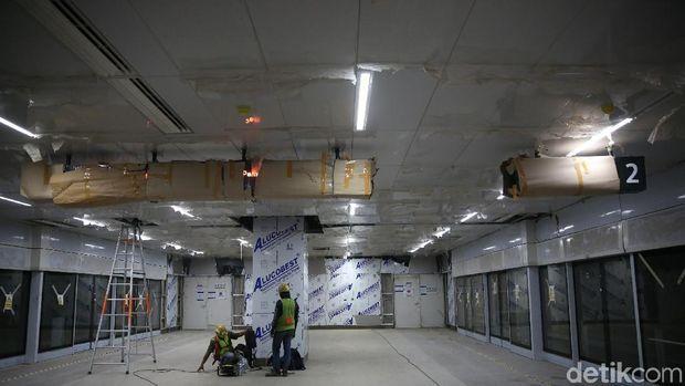 Stasiun MRT Jakarta di Senayan