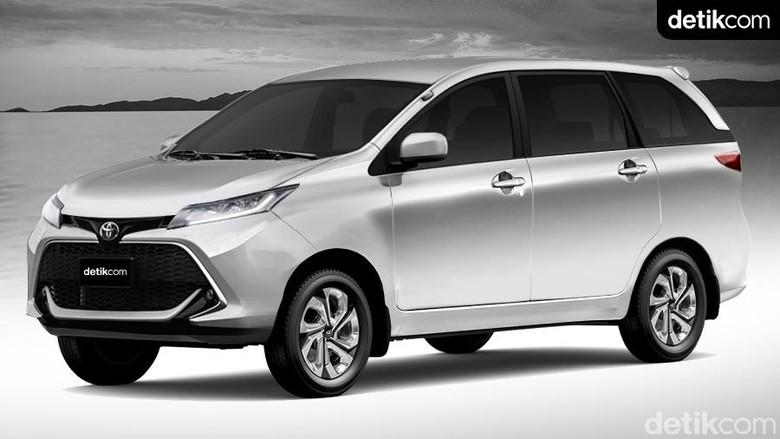 Rendering Toyota Avanza versi detikOto. Foto: Andhika Akbarayansyah