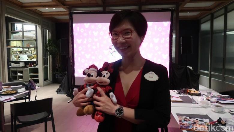 Sam Chan, Senior Manager, Marketing HKDL (Bonauli/detikTravel)
