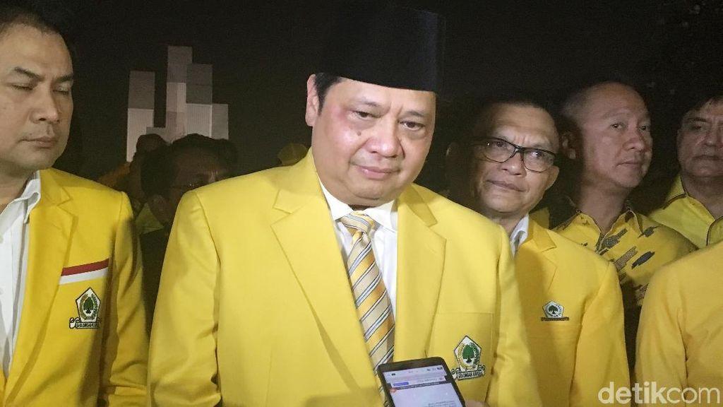 Puji-pujian Airlangga untuk Jokowi