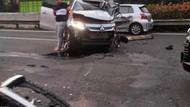 Tabrakan di KM 7 Tol Kembangan arah Tomang, Lalin Macet 1 Km