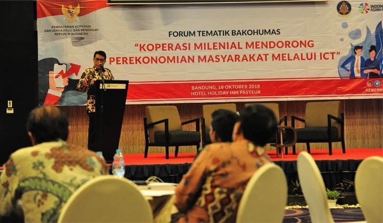 Ajak Milenial Ikut Koperasi, Cara Pemerintah Hadapi Bonus Demografi