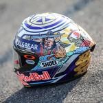 Keren! Helm Spesial Marquez untuk Balapan di Jepang