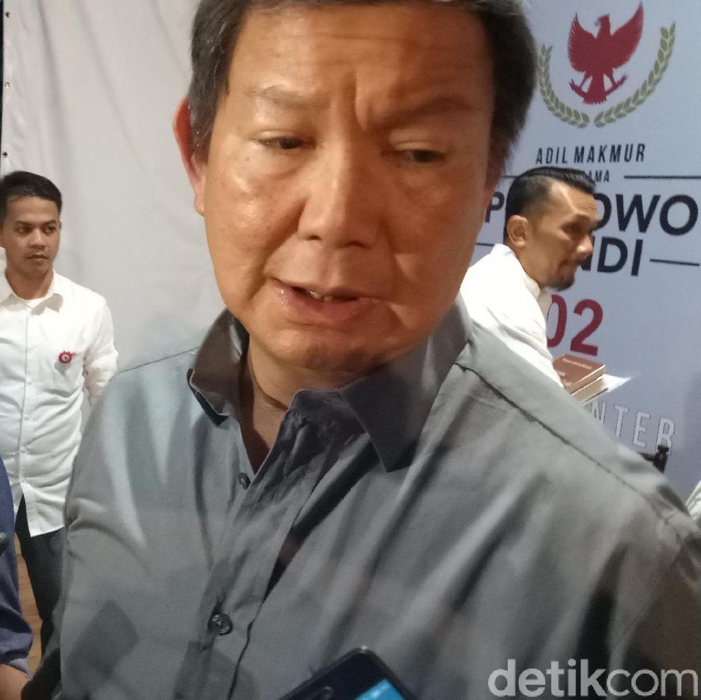 Hashim: Harga Nominal Makanan Jakarta Lebih Tinggi dari Singapura