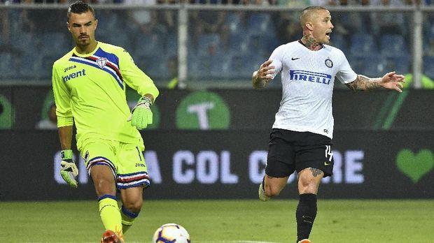 Emil Audero Mulyadi sedang dipinjamkan Juventus ke Sampdoria musim ini.