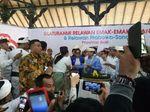 Prabowo Sapa Relawan Emak-emak di Denpasar