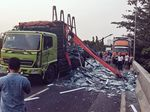 Tol Ir Wiyoto Wiyono Arah Ancol-Pluit Ditutup, Ada Kecelakaan