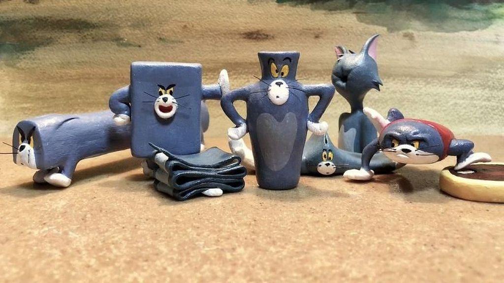 Adegan Tom and Jerry dalam Patung Keramik ala Seniman Jepang