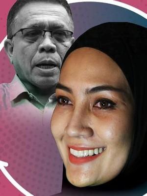 Steffy Burase, Mantan Pramugari, Istri Siri, dan Korupsi Irwandi