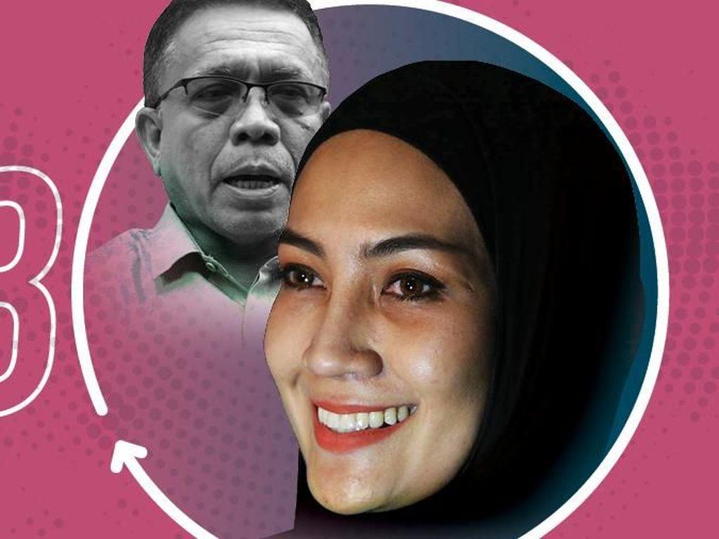 Jaksa KPK Ungkap WA Steffy: Aku Telat, Besok Mau ke Dokter