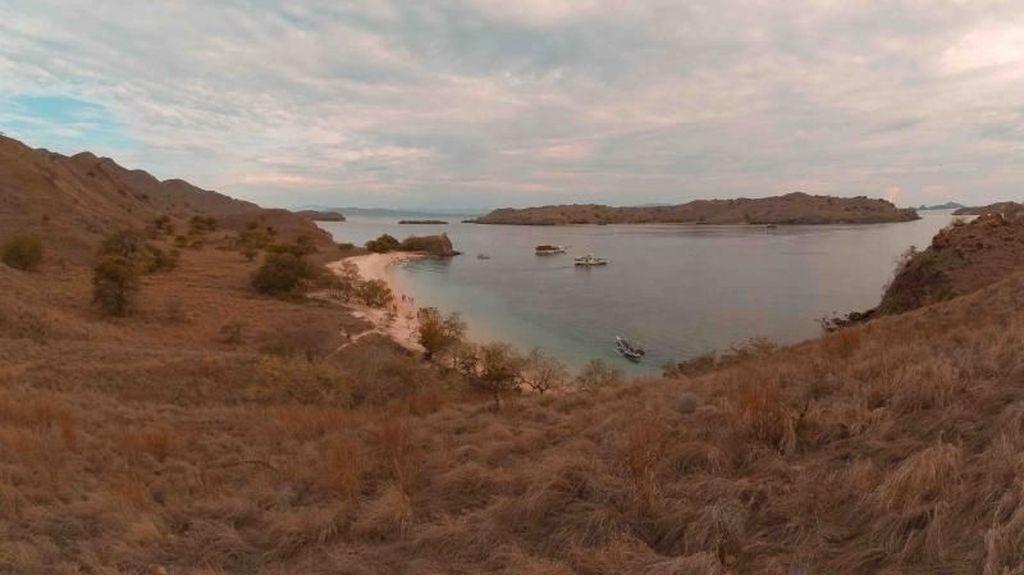 Lindungilah Pantai Pink dengan Cukup Potret dan Melihat