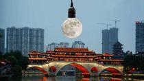Lampu Jalan di Kota Ini Akan Diganti dengan Bulan Buatan