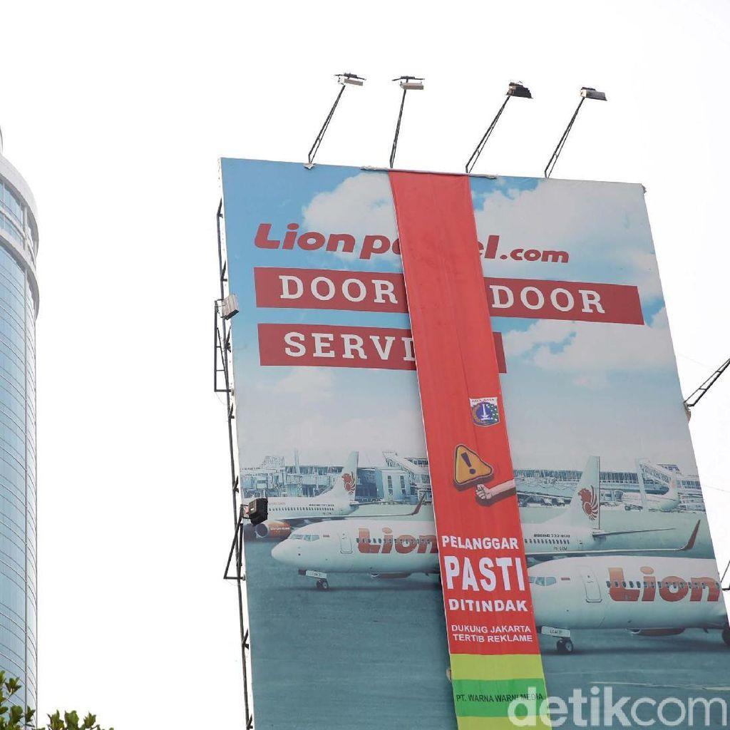 Ada 295 Reklame di Jakarta, Cuma 5 yang Berizin