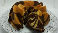 Law's Kitchen: Lembut Harum Marmer Cake dan Bolu Jadul Buatan 'The King of Marmer Cake'