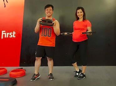 Tetap aktif olahraga untuk menjaga kebugaran tubuh. (Foto: Instagram @nadiamulya)