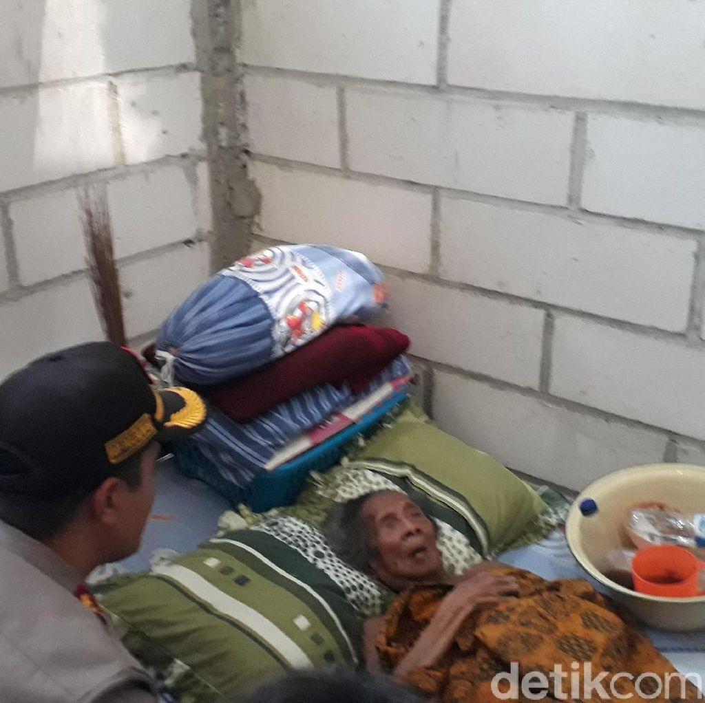 Berkat Polisi, Nenek Kusrini Kini Tinggal di Rumah Layak Huni