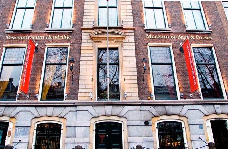 Inilah Tassen Museum atau Museum of Bags and Purses. Lokasinya di Amsterdam, Belanda (Museum of Bags and Purses)