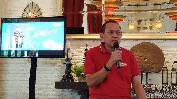 Chris Kanter lepas jabatan Dirut Indosat/Foto: detikINET/Agus Tri Haryanto