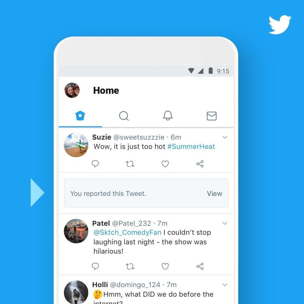 Twitter Beri Notifikasi Kicauan yang Bermasalah