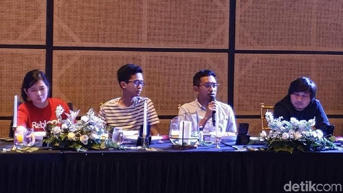 cta Ramayana, Head of Curriculum Digitaraya saat berbicara di dExcluspeak. Foto: Adi Fida Rahman/detikINET