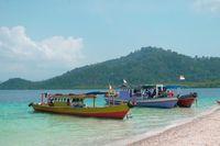 Pulau Pahawang yang Indah.