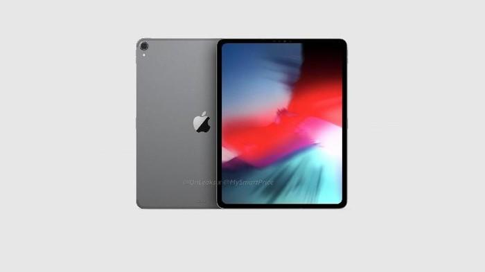 Tampilan iPad terbaru. Foto: Onleaks