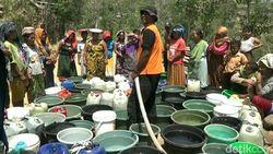 Ribuan Warga Kesulitan Air Bersih, BPBD Situbondo Kekurangan Tangki