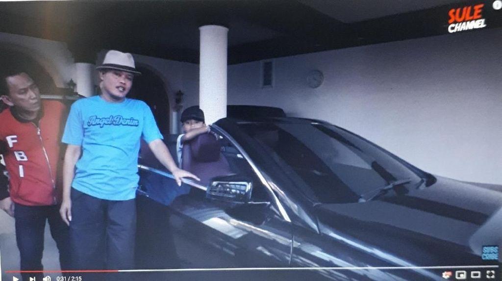 Bikin Tutorial Kocak, Mobil Mewah Sule Bikin Salfok