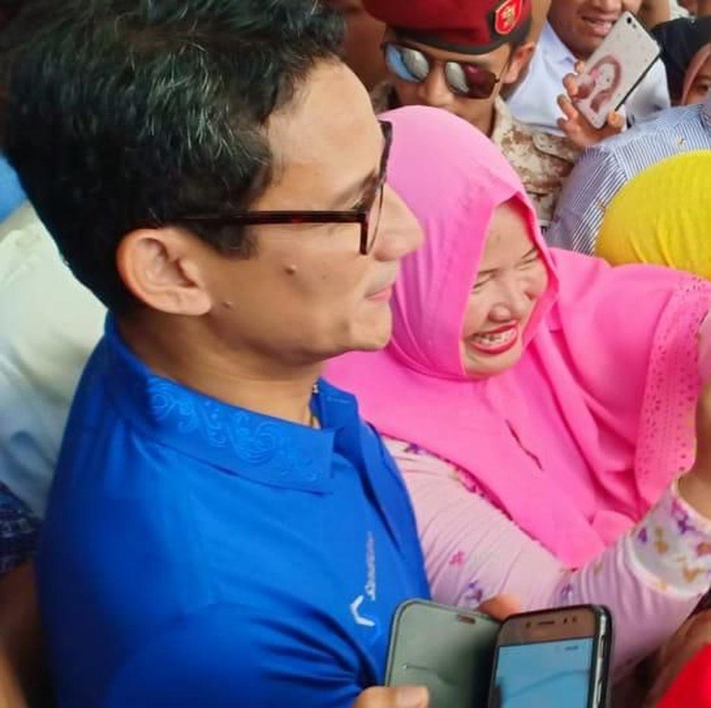 Gerindra: Warga Padang Lebih Heboh Sambut Sandi ketimbang Jokowi