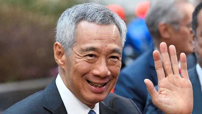 Singapores Prime Minister Lee Hsien Loong arrives at the ASEM leaders summit in Brussels, Belgium October 19, 2018. REUTERS/Piroschka van de Wouw