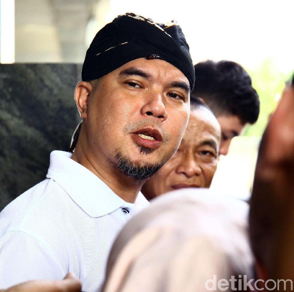 Ahmad Dhani Mangkir Jadi Saksi Kasus Penipuan dan Penggelapan