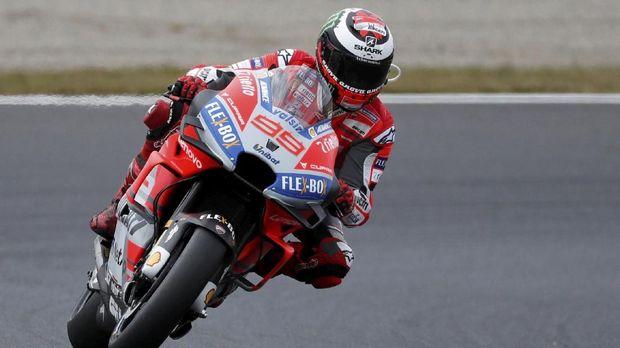 Jorge Lorenzo Senang Jalani Balapan Bersama Ducati