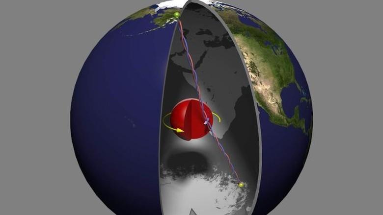 Belajar dari Gempa: Jantung Bumi Kemungkinan Lebih Lunak