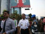 Bersama Wakil Ketua KPK, Anies Segel Reklame di Rasuna Said