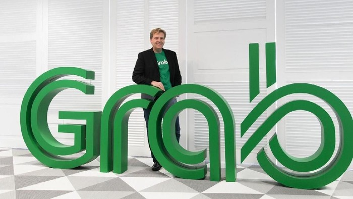 Mark Porter, Chief Technology Officer (CTO) for Transport Grab. Foto: Grab