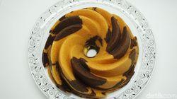 Laws Kitchen: Lembut Harum Marmer Cake dan Bolu Jadul Buatan The King of Marmer Cake