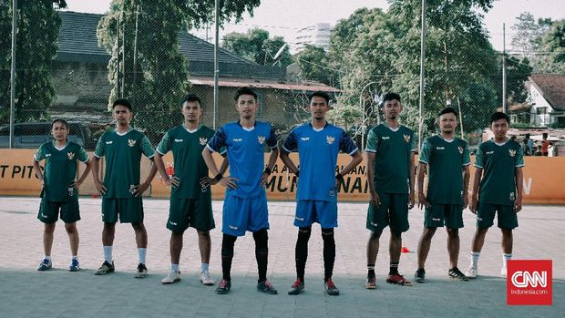 Timnas Indonesia di ajang Homeless World Cup 2018. (