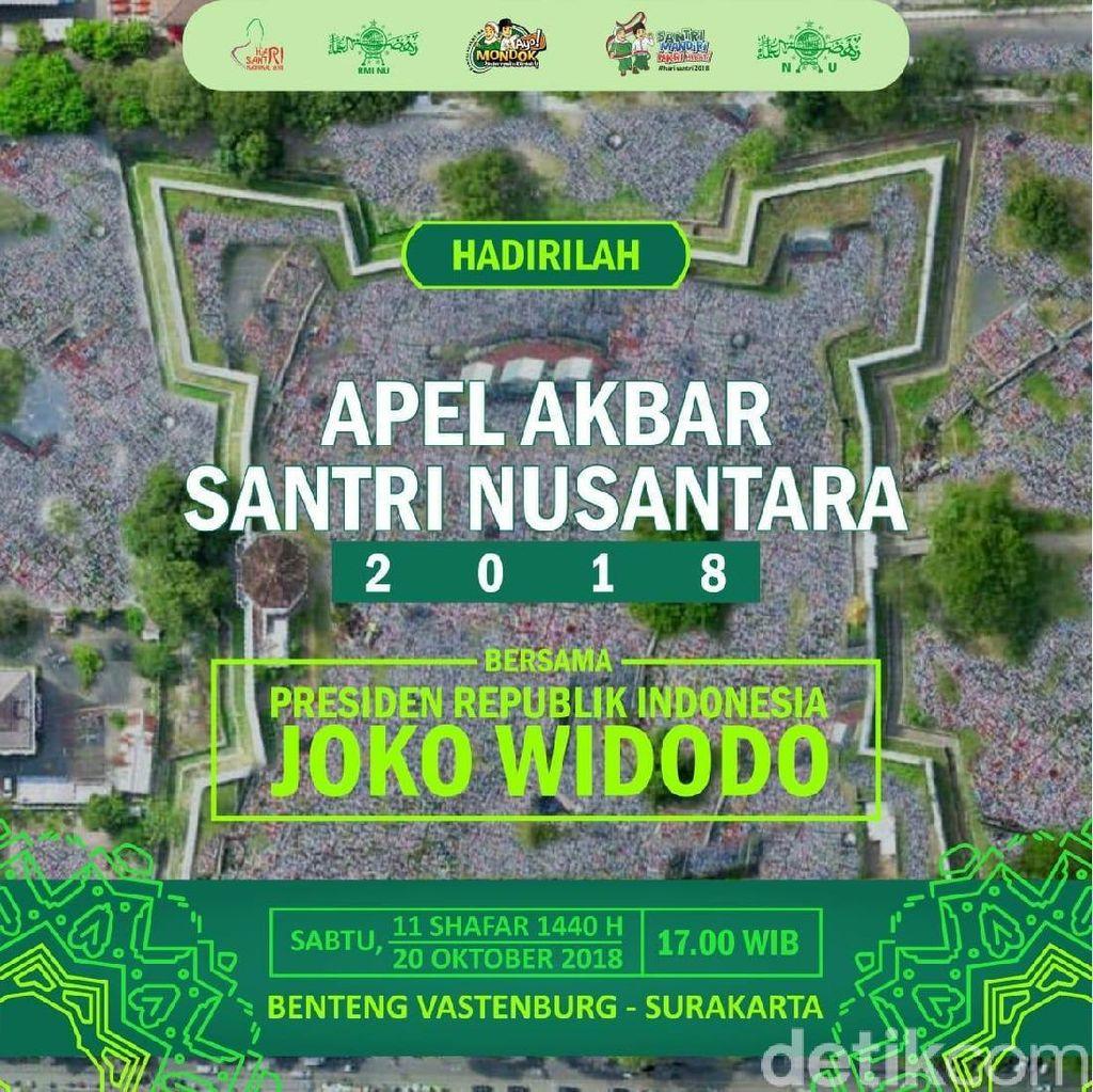 50 Ribu Santri Nusantara akan Padati Solo Hari Ini