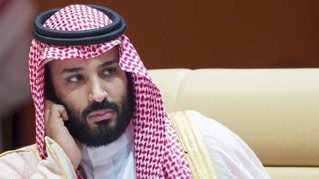 Putera mahkota kerajaan Arab Saudi Mohammed bin Salman.