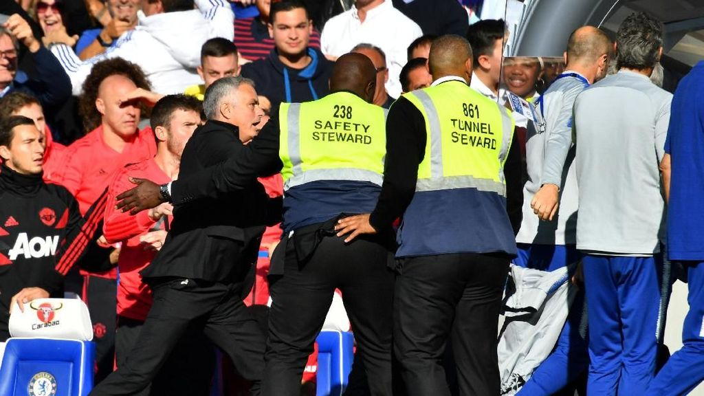 Tentang Marco Ianni, Asisten Sarri yang Memprovokasi Mourinho