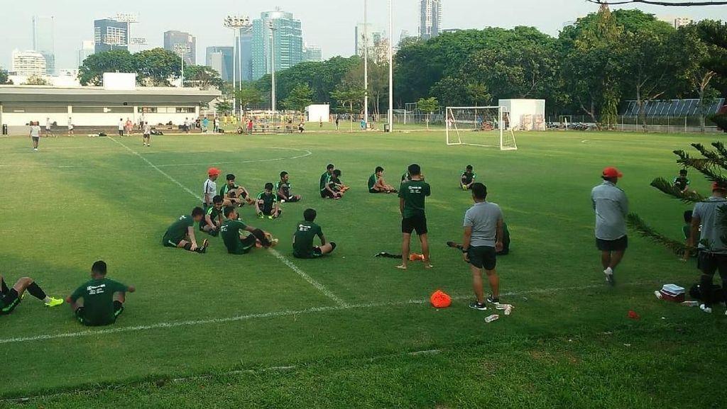 Pemain Happy, Timnas U-19 Bakal Tampil All Out Hadapi Qatar