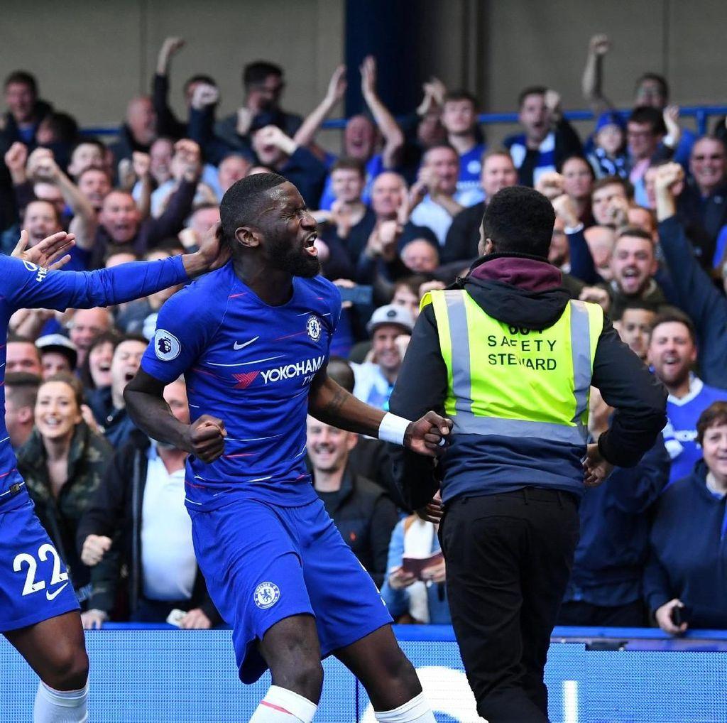 Babak I Selesai, Chelsea Ungguli MU 1-0