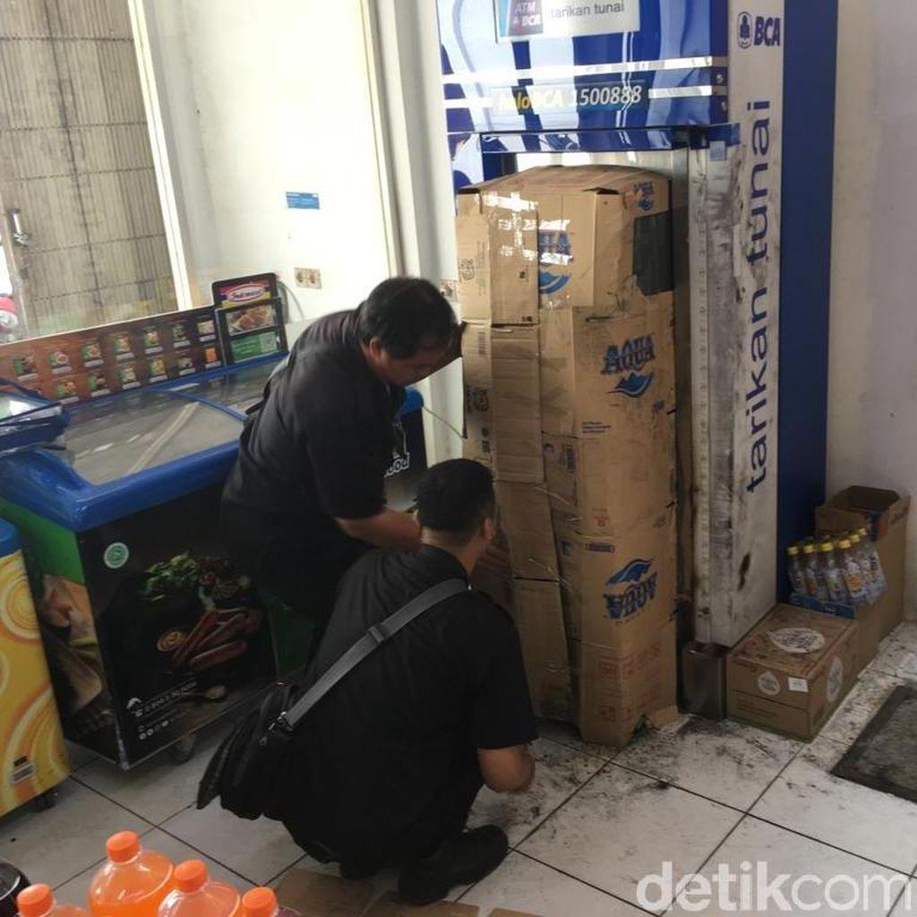 ATM di Mojokerto Dibobol dengan Las, Pelaku Bawa Kabur Rp 673 Juta