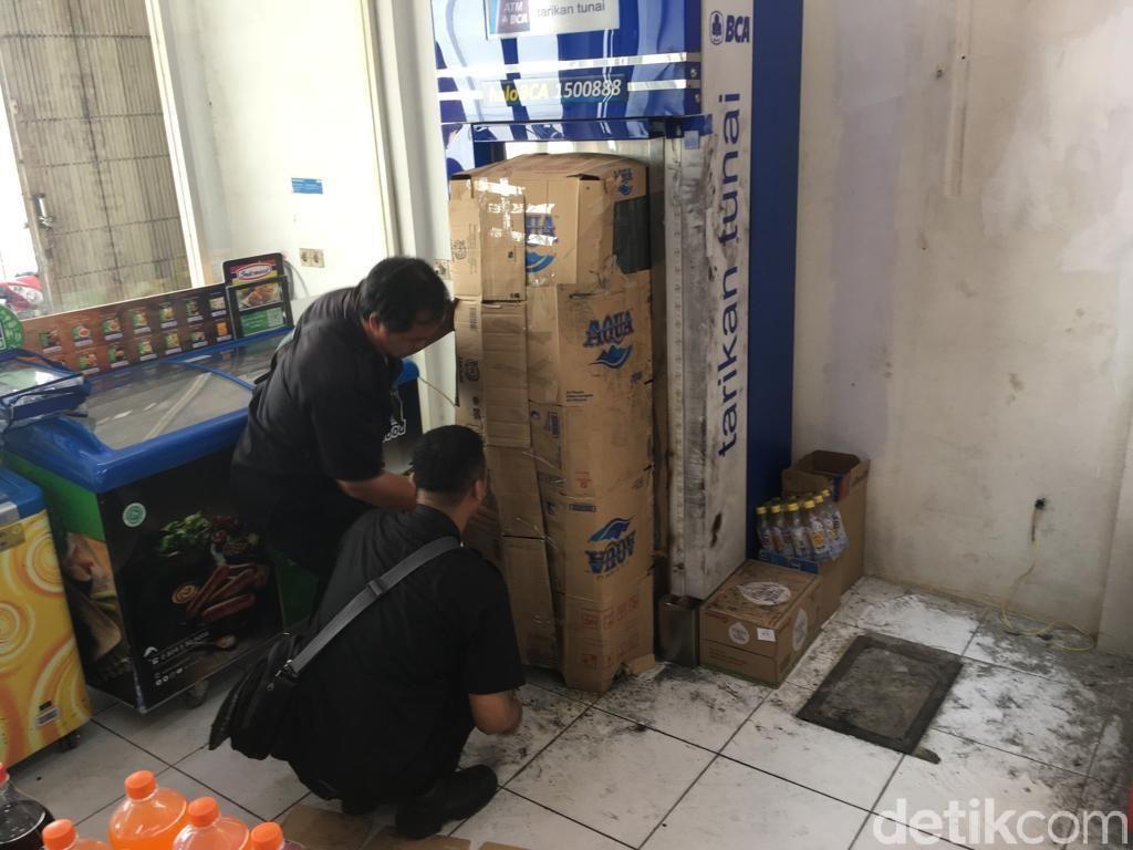 Gasak ATM Pakai Alat Las, Kawanan Pencuri Gondol Rp 637 Juta