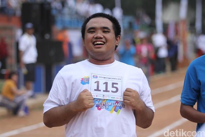 Setelah Asian Games dan Asian Para Games kini ASEAN Autism Games 2018 (AAG) diselenggarakan di Jakarta. Selasa (20/10/2018). (Rifkianto Nugroho/detikHealth)