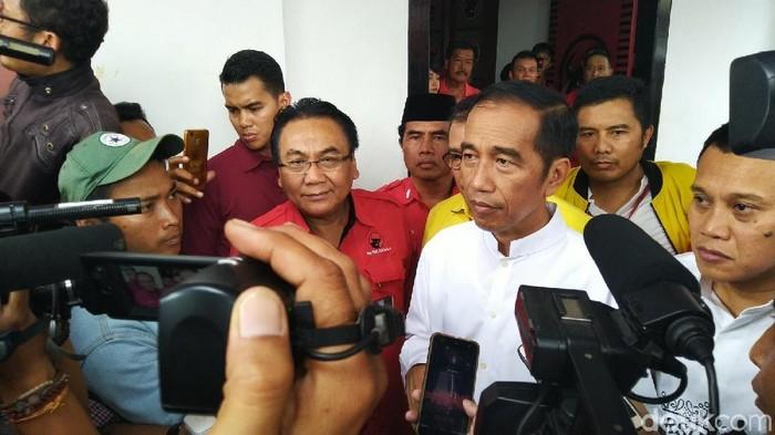 Jokowi dituding kurang kontrol diri karena mengucapkan sontoloyo (Foto: Angling Adhitya Purbaya/detikcom)